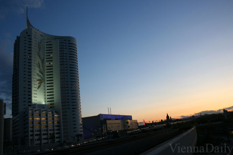 Vienna highrise building