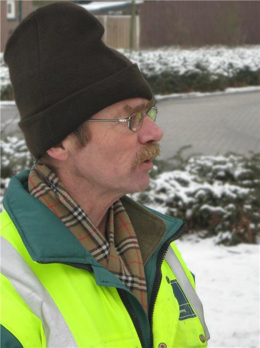 Municipality worker