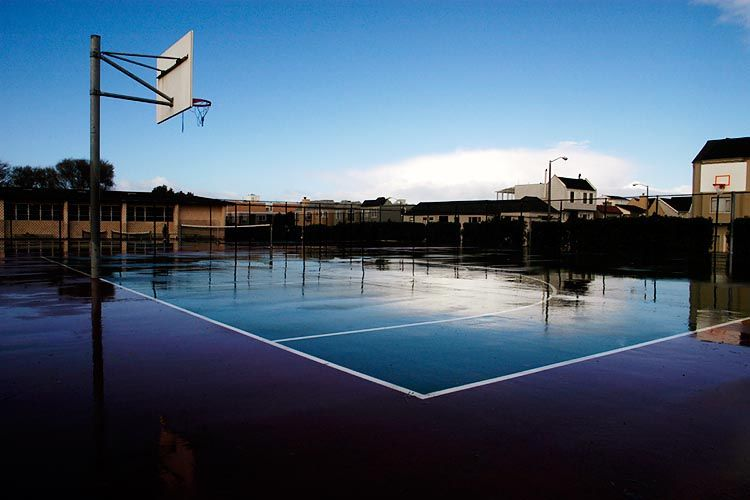 Court Reflection