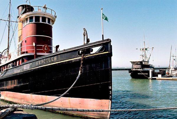 Historic Tugboat Hercues