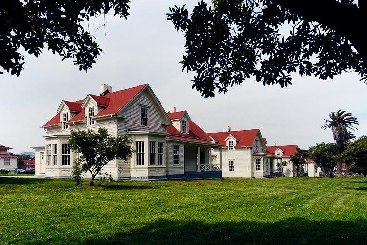 Victorian homes, Presidio, San Francisco