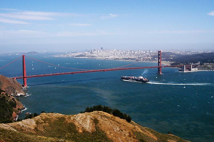 View of SF from Marin Headlands