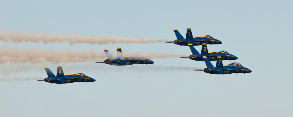 Blue Angels Air Show #4