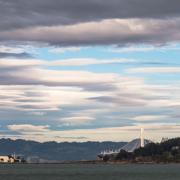 Clouds Over SF Bay