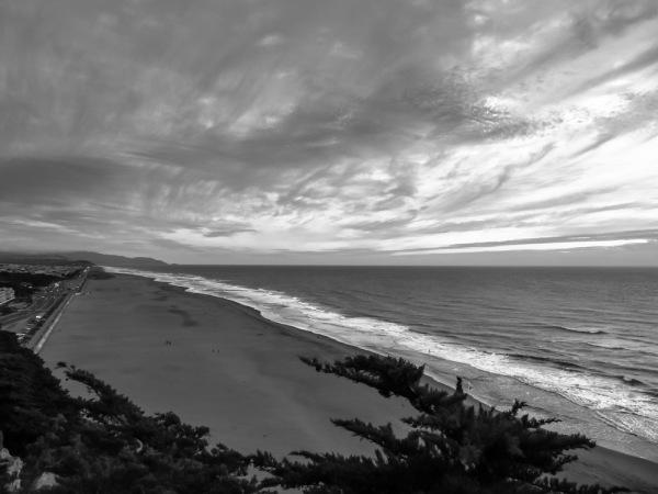 Dusk Over Ocean Beach