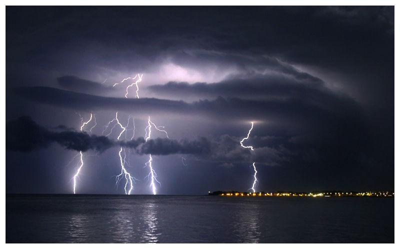 Zadar Croatia storm tormenta