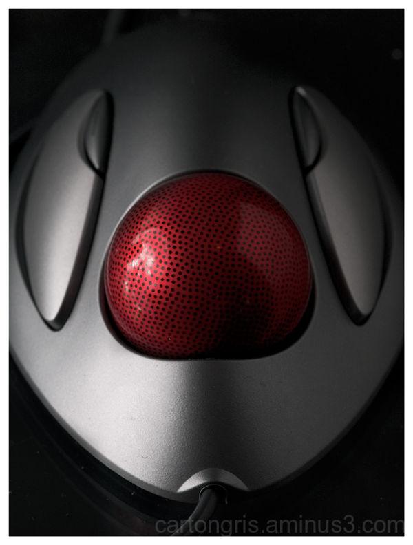 Trackball Marble mouse strobist