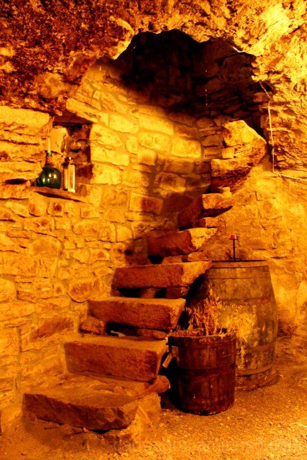 La escalera antigua