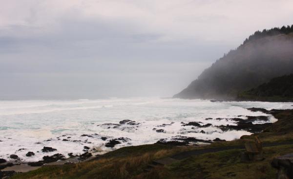 Costa Oeste, costa de Oregon
