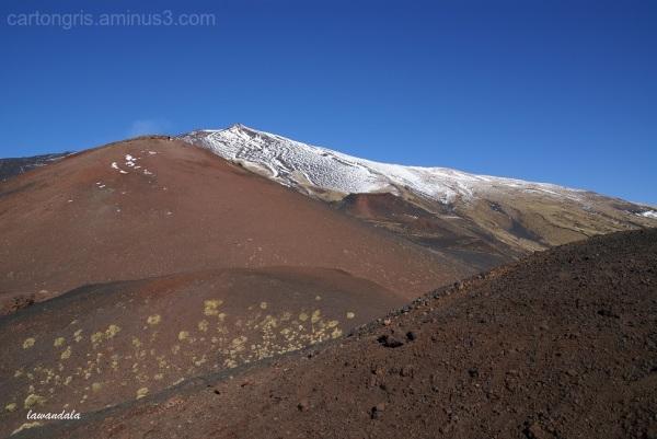 lava landscape, volcano, etna, mountain, italy