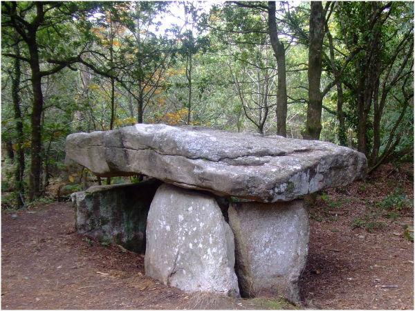 Dolmen de Kerven à Riantec (Bretagne)