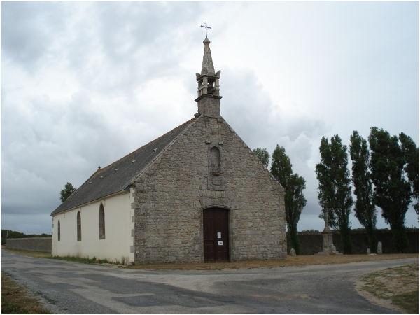 Chapelle St Cornély Kerprat à Plouhinec (Bretagne)
