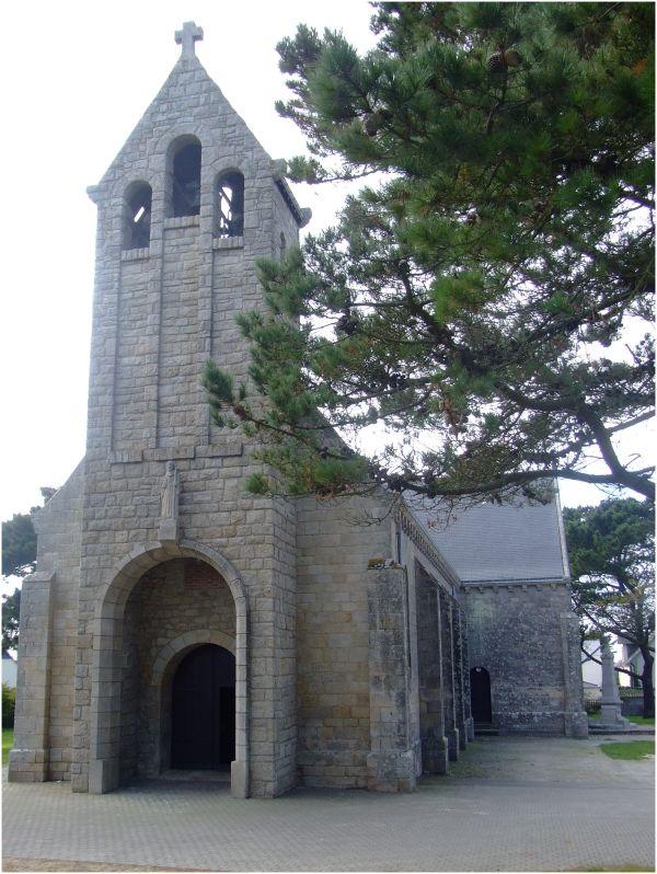 Eglise St Gildas à Gâvres