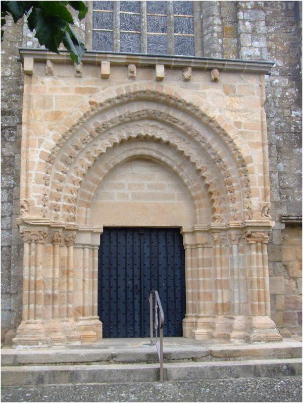 Eglise N-D de la Joie à Merlevenez (Bretagne)