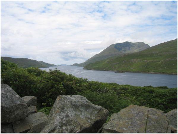 Fjord de Leenane - Irlande