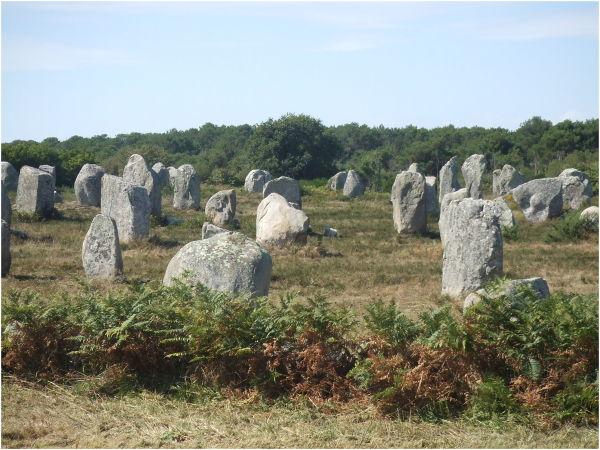 Alignements des Ménec à Carnac (Bretagne)