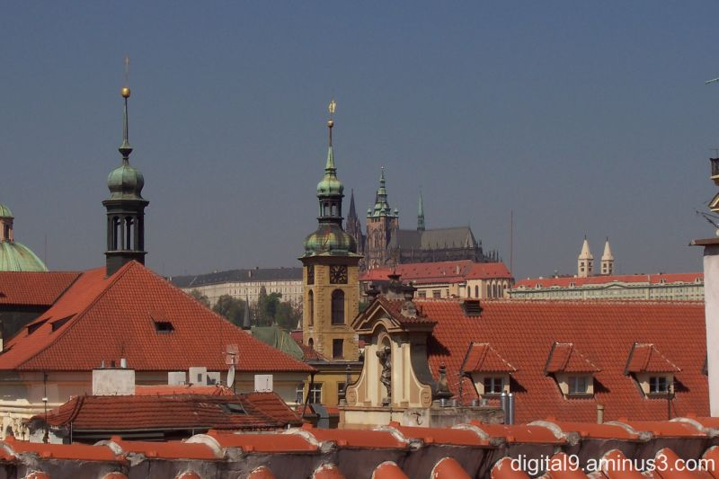 Across The Rooftops, Prague