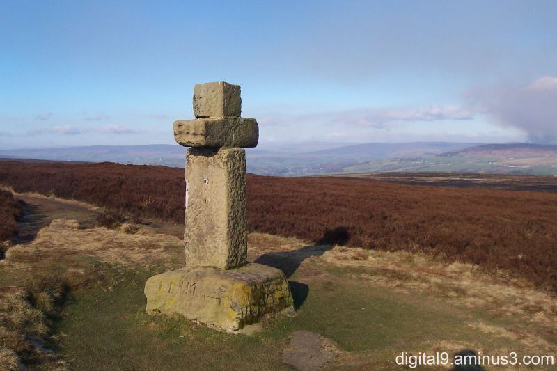 Cowper's Cross, Ilkley Moor