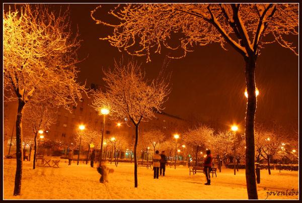 Madrid Nieve