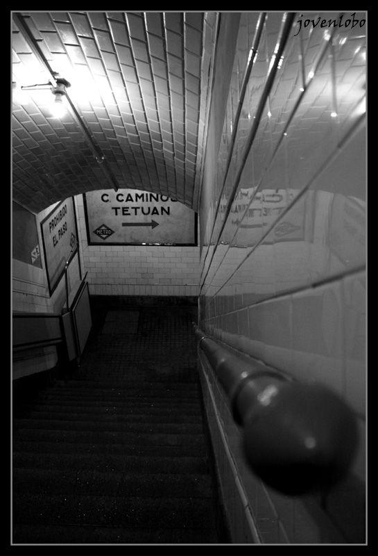 Metro Escaleras metro