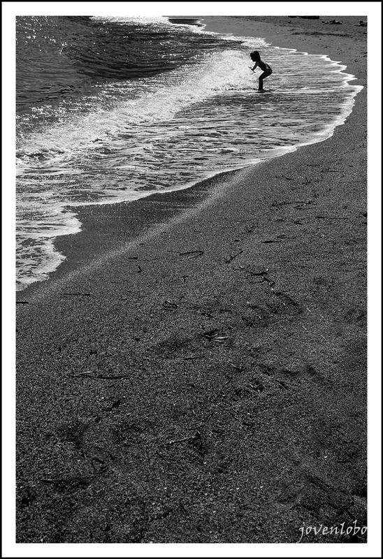 Playas Niños Jugando