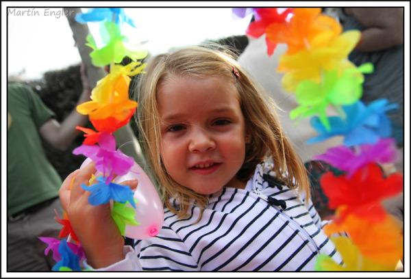 retrato niños flores