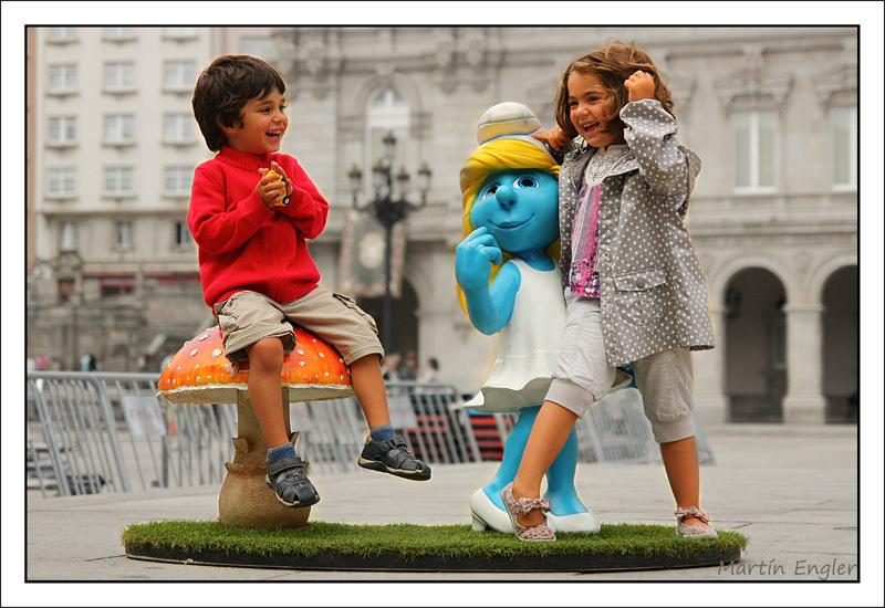 Retrato-Niños-Sonrientes