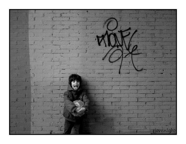 Retrato niño Callejero
