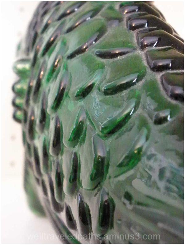 Green glas fish
