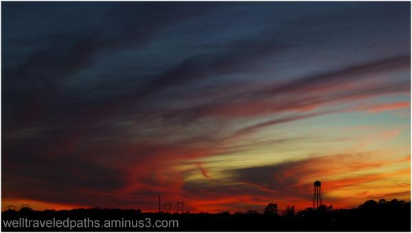 A December, Florida, Sunset
