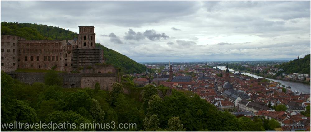 Heidelberg Schloß und Stadt