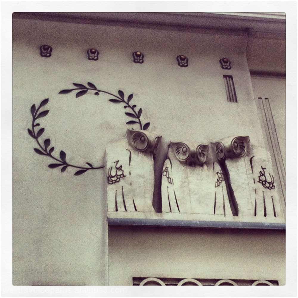 Detail on the Secession Building