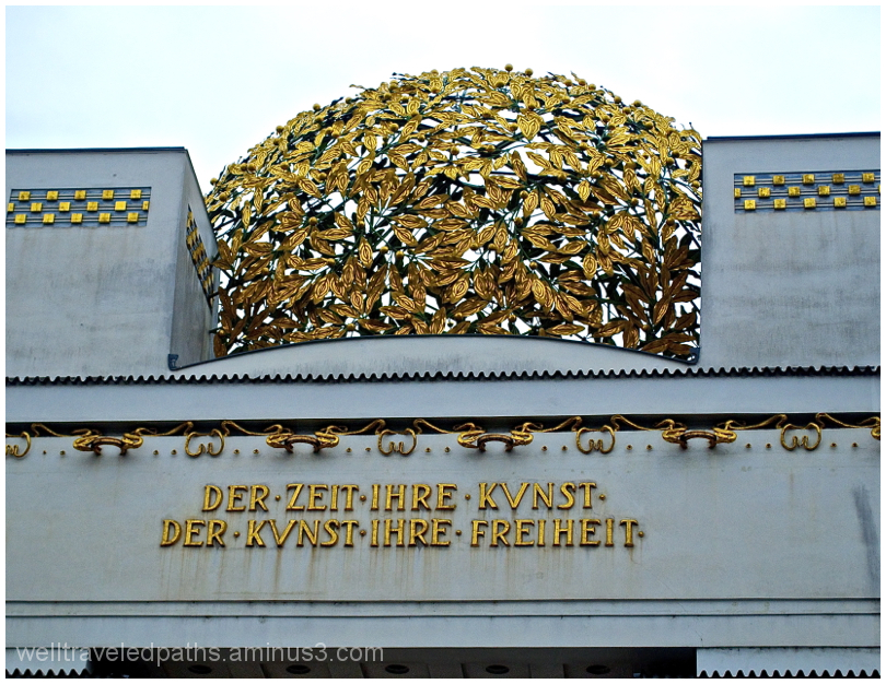 Detail of the secession building