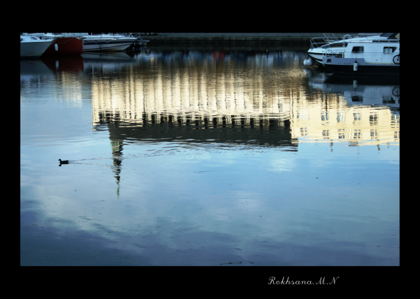Mirrors (A blue melody)
