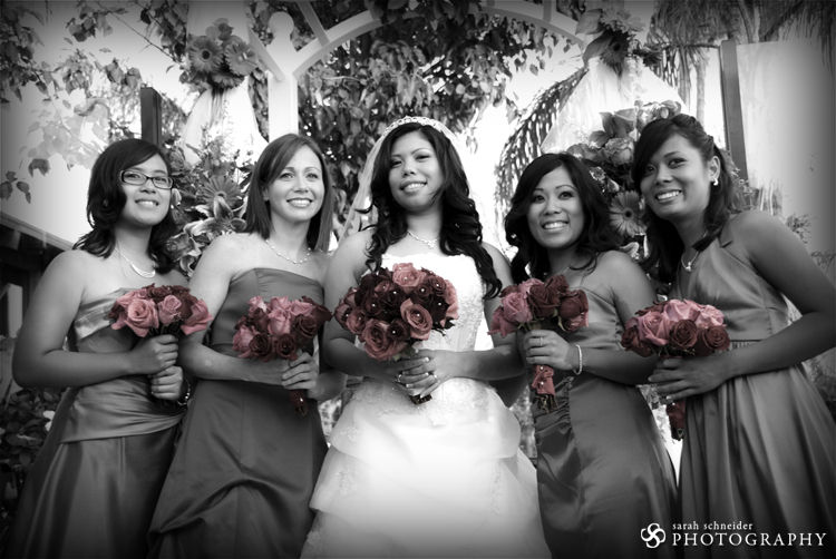 The Bride & the Girls