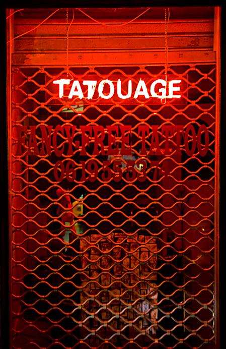 Tatouages....