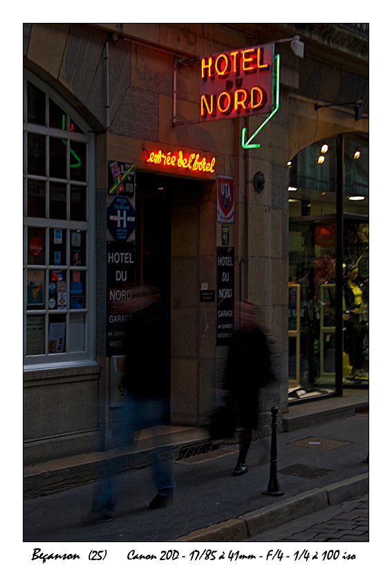 Hôtel du Nord...