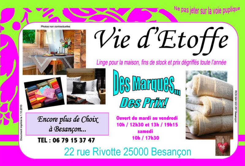 Nouvelle activité à Besançon...