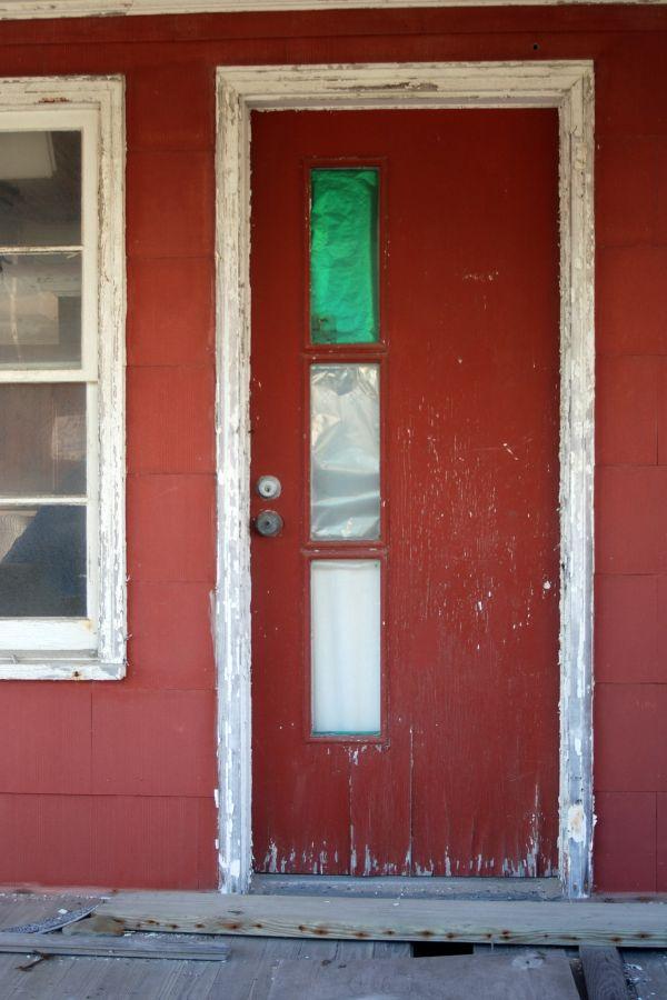 Mrs. McClung's Front door