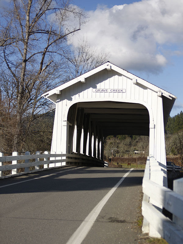 Sunny Valley Covered Bridge