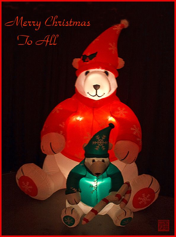 Wishing you a Beary Merry Christmas