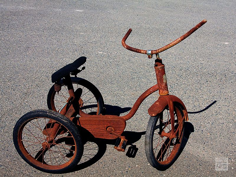 Little Old Tricycle
