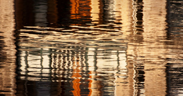 reflections on the river