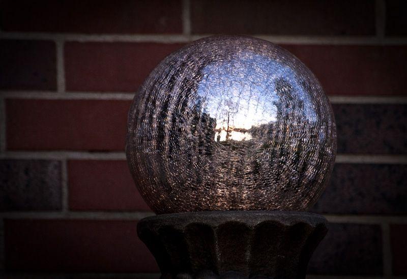 sunset in garden sphere