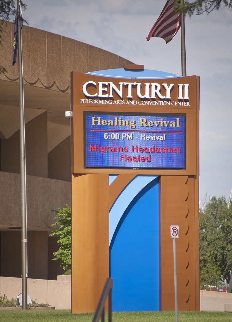 advert for faith healing, headaches cured
