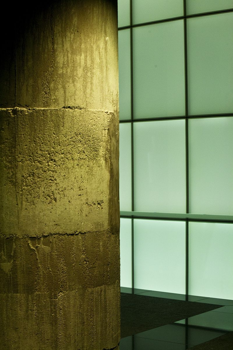 column and window in national world war I museum