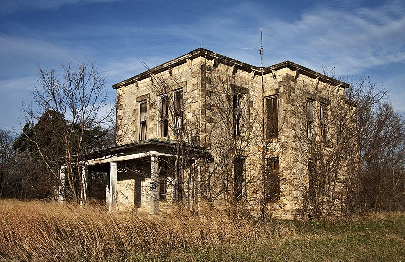 old abandoned home