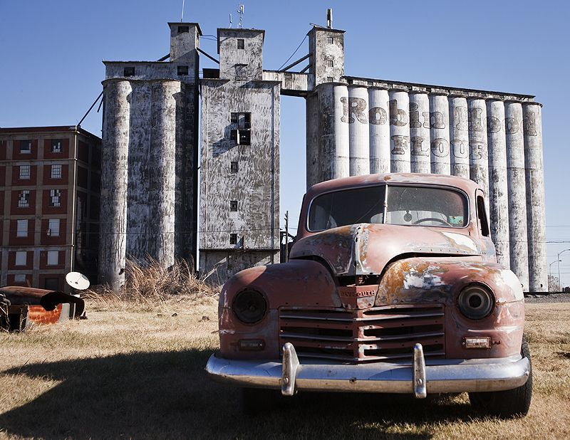 old plymouth and robin hood mills elevator