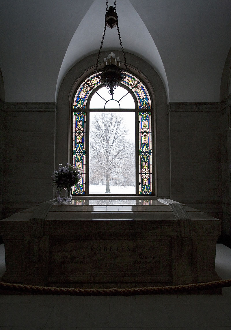 tomb with view