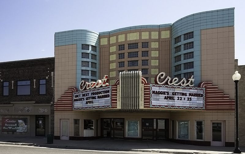 crest theater in great bend, kansas